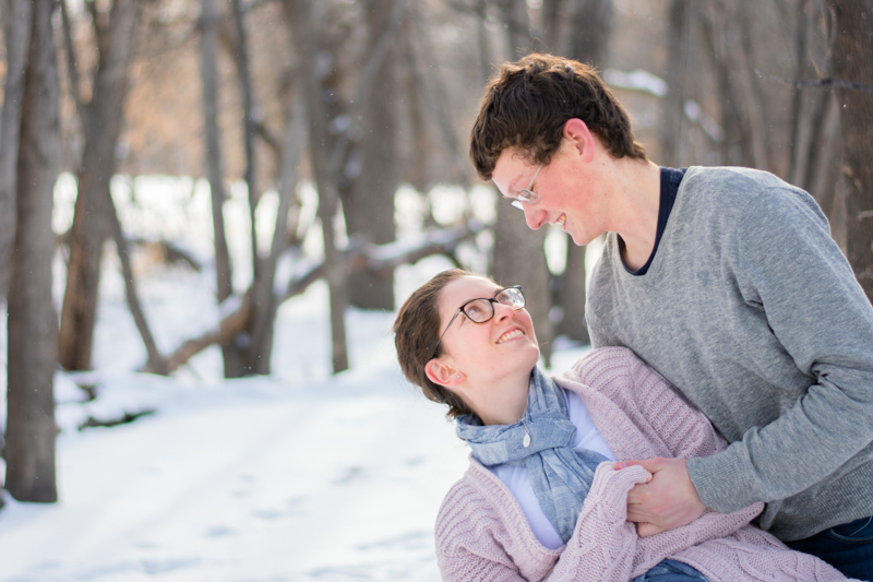 engagement photos fargo - Alyssa and Luke - Fargo Engagement Photography