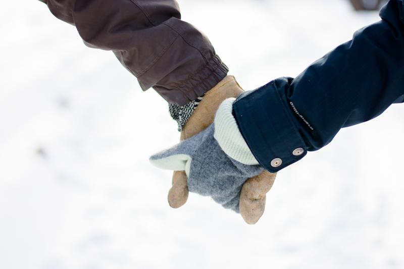winter engagement photography session 2 - Alyssa and Luke - Fargo Engagement Photography