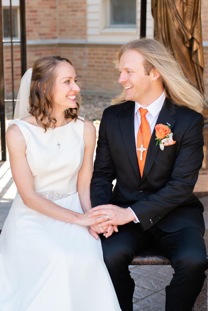 Ashley and Dusty 118 - Dusty and Ashley - Catholic North Dakota Wedding