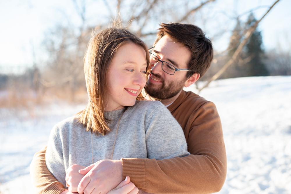 DSC 2611 - Emma and Chris - North Dakota Engagement