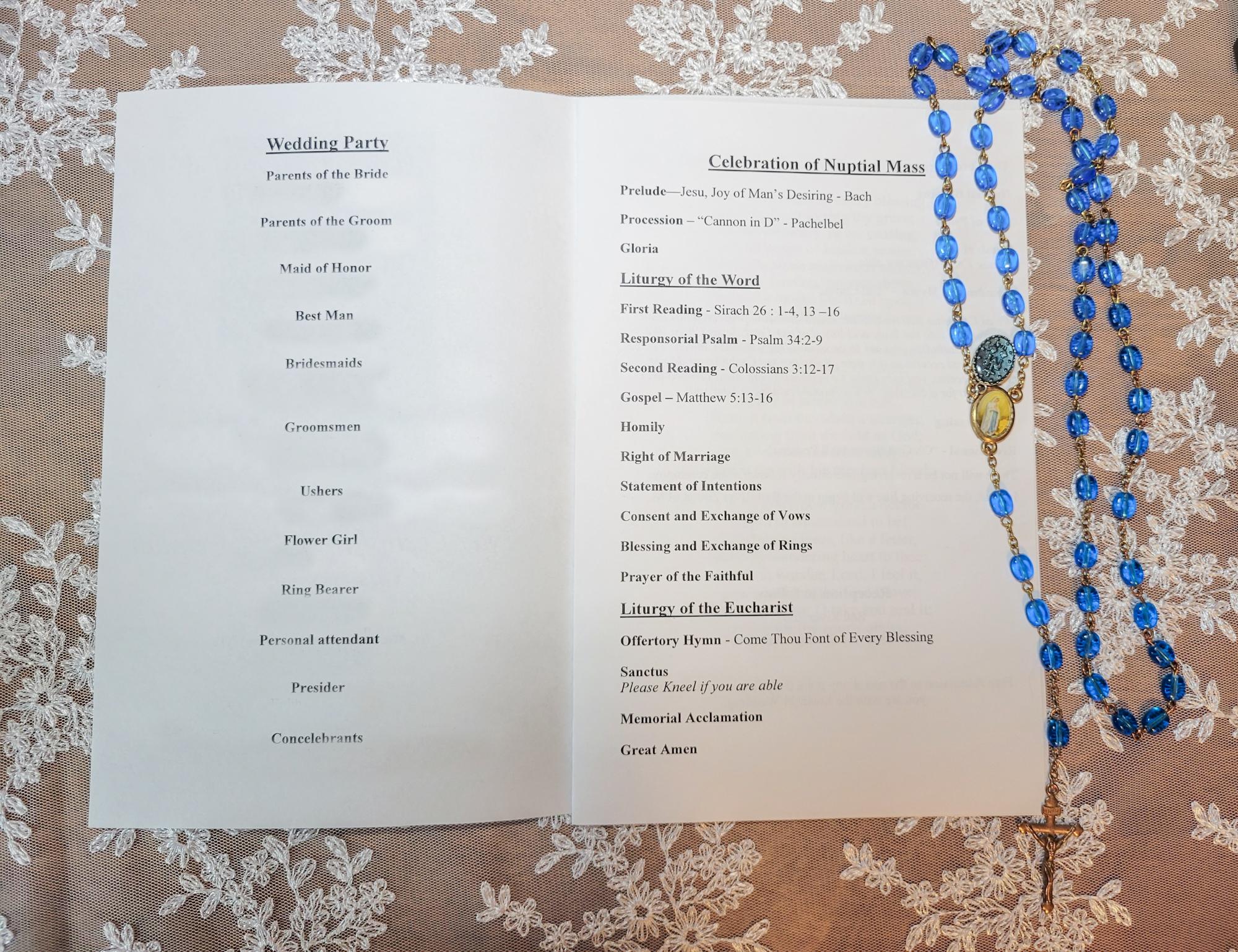 20210728 115443 - How to Create A Catholic Wedding Program