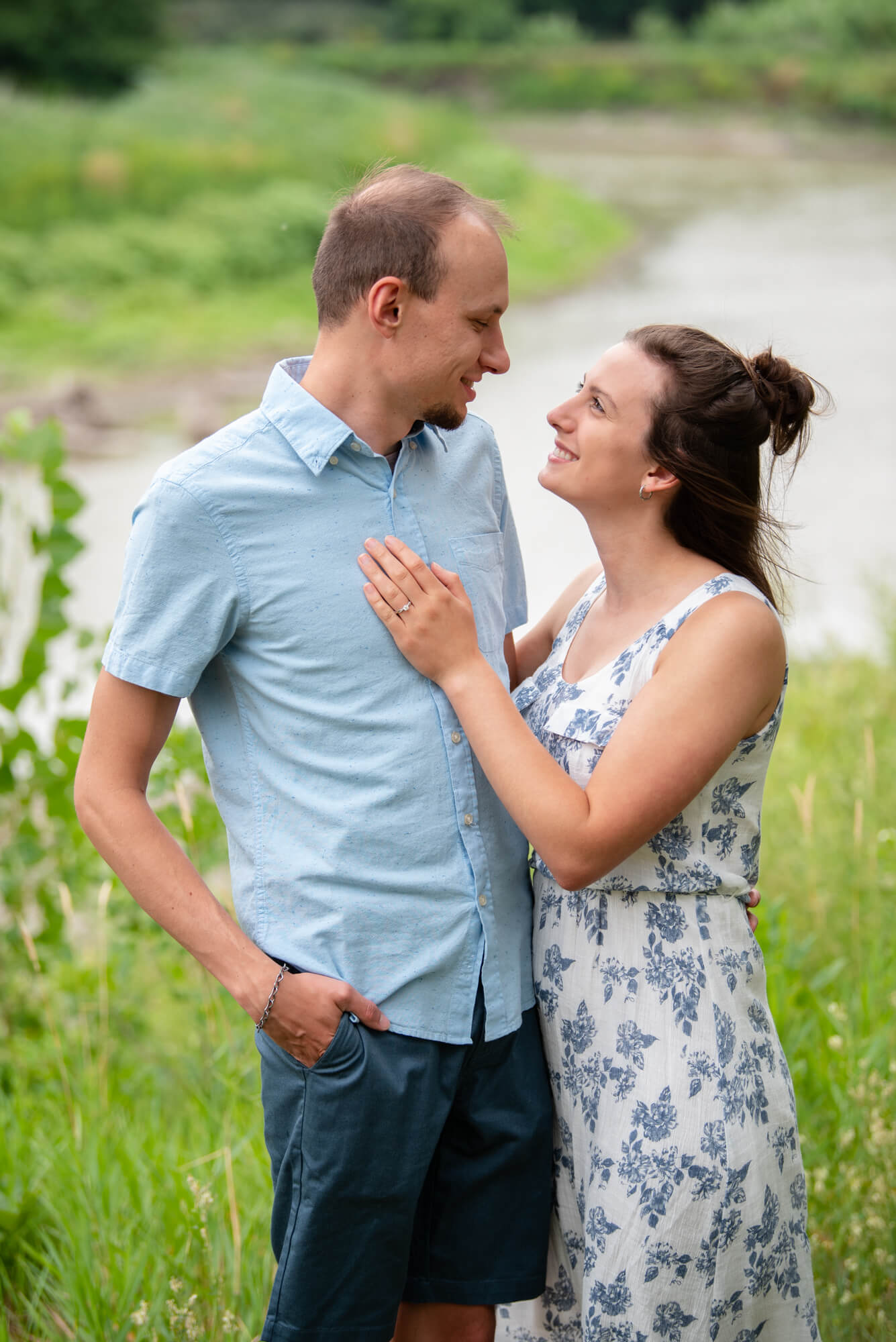 DSC 4664 - John and Faith's Engagement   Fargo, North Dakota