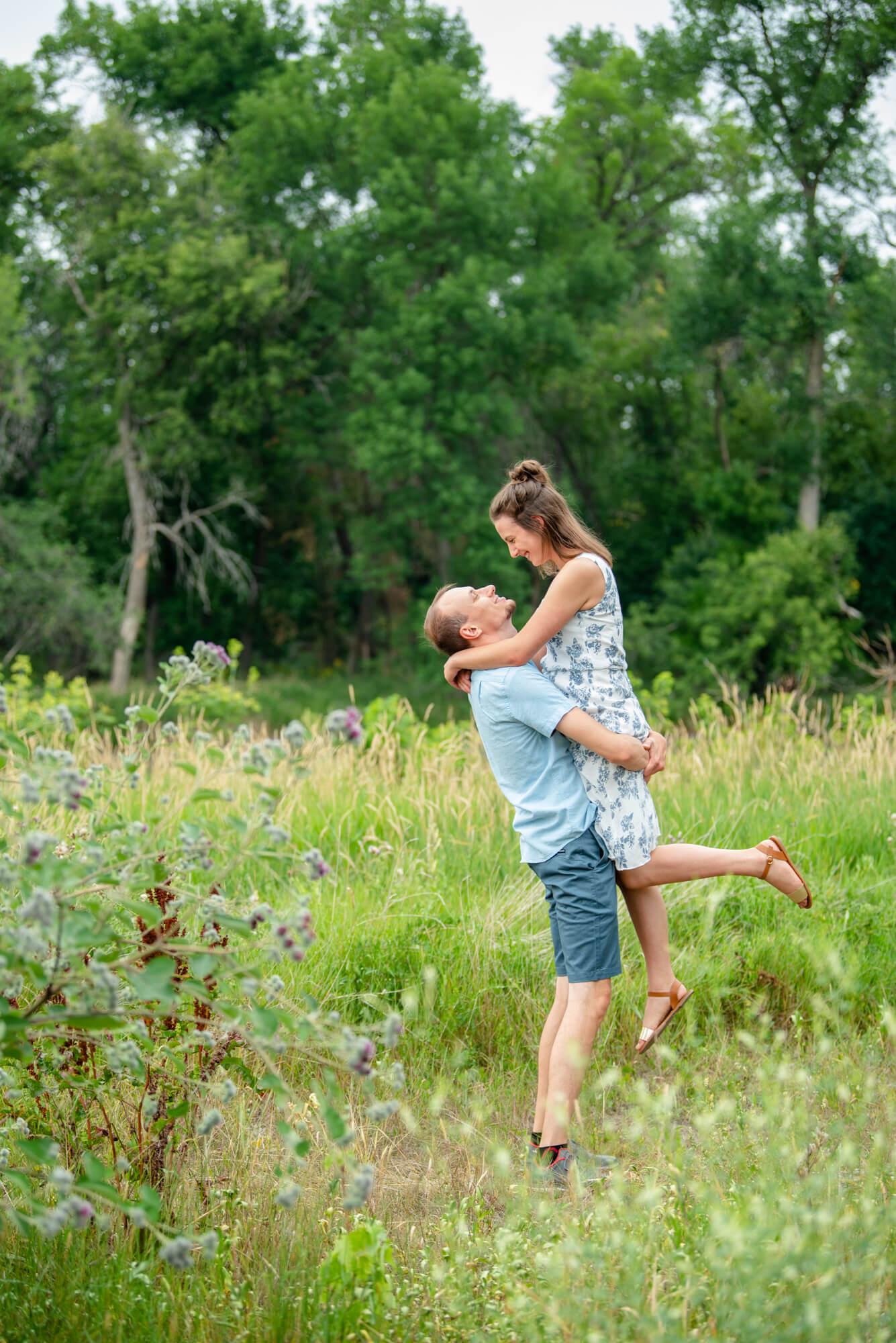 DSC 4745 - John and Faith's Engagement   Fargo, North Dakota