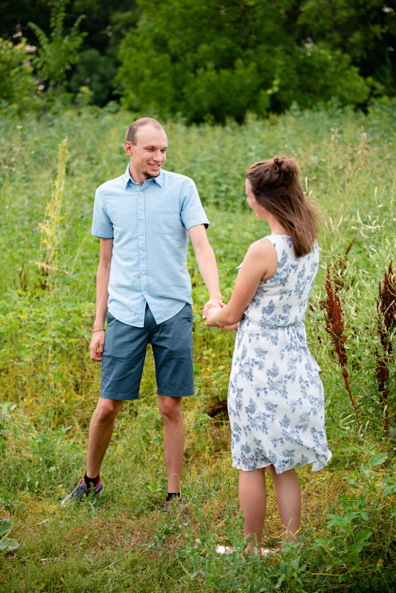 DSC 5042 - John and Faith's Engagement   Fargo, North Dakota